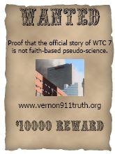 9/11 $10,000 reward poster