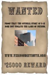 9/11 $25,000 reward poster
